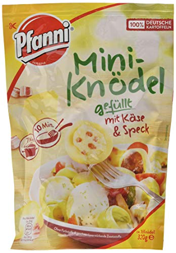 Pfanni Mini-Knödel gefüllt mit Käse und Speck, 7er Pack (7 x 320 g)