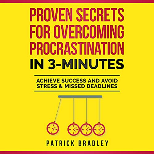 Proven Secrets for Overcoming Procrastination in 3 Minutes cover art