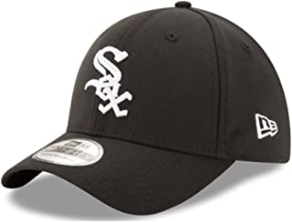 New Era Chicago White Sox Game Team Classic 39THIRTY Stretch Fit Hat Black Size Child/Youth