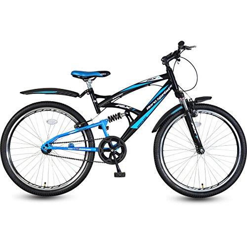 Hero RX1 26T Single Speed Mountain Bike (Black/Blue)