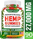 Premium Gummies - 27000 MG Oil Infused 90 Gummy Bears - Sleep, Anxiety, Memory & Mood Support - Made in The USA