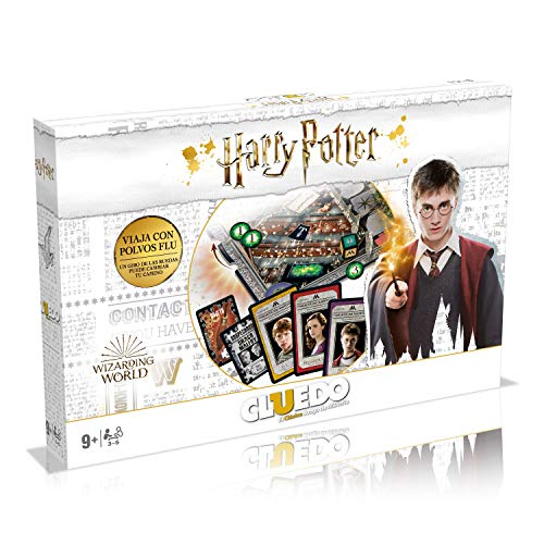 Winning Moves Cluedo Harry Potter Edition Weiße Box (40341)
