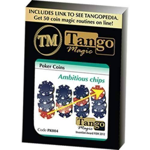 SOLOMAGIA Ambitious Chip (PK004) (Gimmick and Online Instructions) by Tango Magic - Stage Magic - Trucos Magia y la Magia - Magic Tricks and Props
