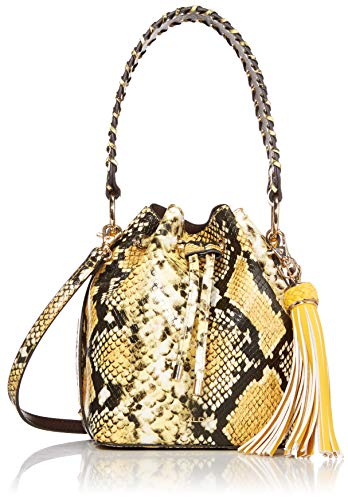 Bucket Bag for women Synthetic material Removable crossbody strap