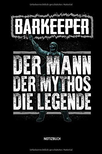 Barkeeper - Der Mann - Der Mythos - Die...