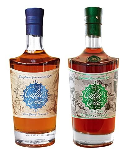 Calicos Crew Rum - Das Zweierset zum Sonderpreis mit Anne Bonnys Favourite und The Doctors Tranquilizer