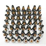 Pastel Decoración 48PCS / SET Acero inoxidable Icing Tuberías Boquillas de pastelería Pasteles Set Torta Herramientas Herramientas Accesorios Accesorios Hoja Flor Piping Boquilla Hierba Hierba Bolsas