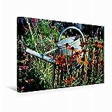 Premium Textil-Leinwand 45 x 30 cm Quer-Format Blick in den Garten, Leinwanddruck von niceimage