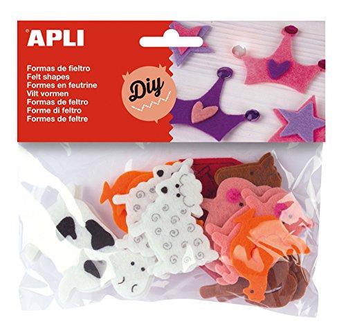 APLI Kids Filztasche für Tiere, 13785