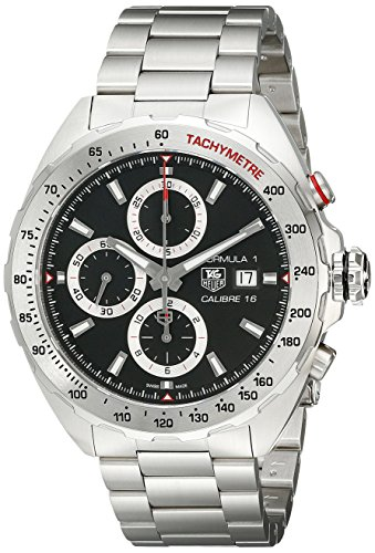 TAG Heuer Men's CAZ2010.BA0876 Analog Display Swiss Automatic Silver Watch