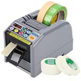 Frifreego Automatic Tape Dispenser Electric 6-60mm Width Tape Cutting Machine Tape Adhesive Cutter Intelligent Packing Equipment with Cutting Length up to 999mm Suitable for Various Tapes
