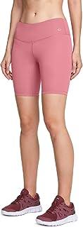 ATIKA Women's High/Mid Waist Bike Shorts, Workout Running Yoga Shorts with Pocket, Athletic Stretch Exercise Shorts