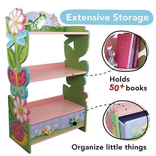 Fantasy Fields KinderMagic Garden KidsHolz-Bücherregal - 5