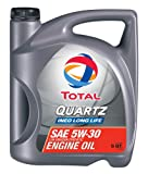 Total (188058-5QT Quartz INEO Long Life ACEA/API 5W-30 Engine Oil - 5 Quart