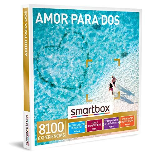 Smartbox - Caja Regalo Amor para Parejas - Amor para Dos - Ideas Regalos Originales - 1 Experiencia de Estancia, Bienestar, gastronomía o Aventura para 2 Personas