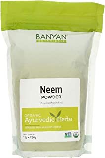 Banyan Botanicals Neem Powder – Organic Neem Leaf Powder – Azadirachta Indica – for Clear Complexion & Healthy Skin, Hair,...