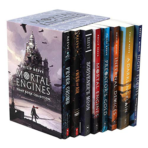 Mortal Engines 8 Book Collection