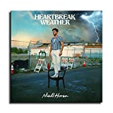 Niall Horan Heartbreak Weather Album Cover Canvas Art Poster and Wall Art Picture Print Modern Family Bedroom Decor Posters