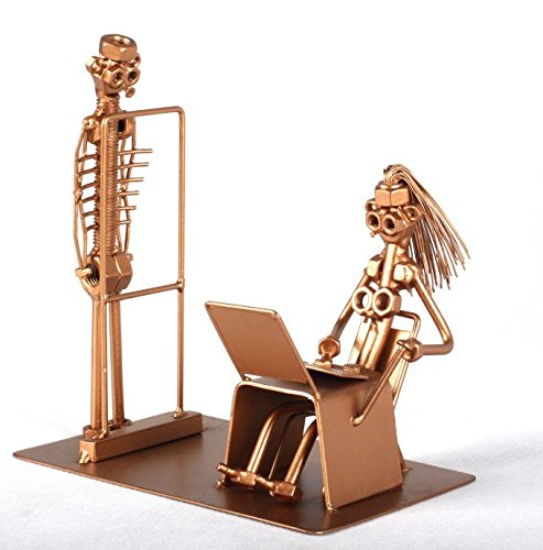 Radiologist Metal Art Sculpture