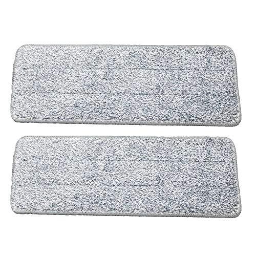Venteo – Scopa per auto con secchio doppio scomparto, spazzola a testa girevole e salviette in microfibra (set di 2 panni in microfibra)