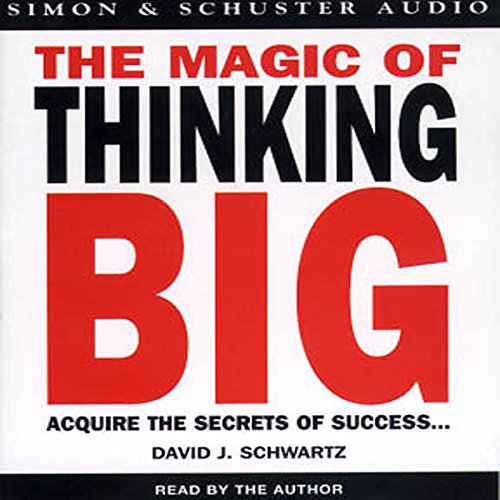 The Magic of Thinking Big  By  cover art