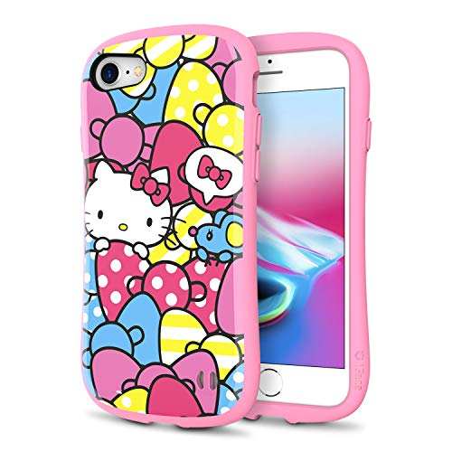 iFace x Sanrio First Class Series iPhone SE 2 (2020) / 7 (2016) / 8 (2017) Case – Cute Dual Layer Hybrid Shockproof Protective Cover [Drop Tested] - Hello Kitty/Ribbon