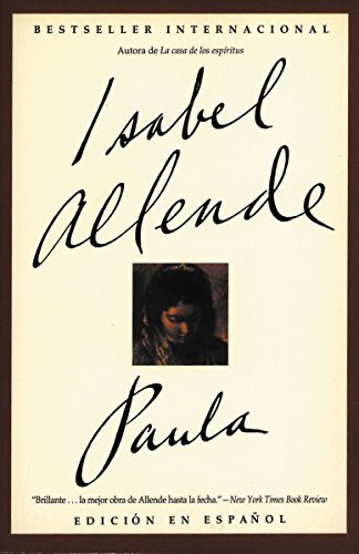 Paula Spanish Edition By Isabel Allende 1996 03 15