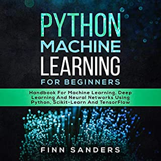 Python Machine Learning for Beginners audiobook cover art