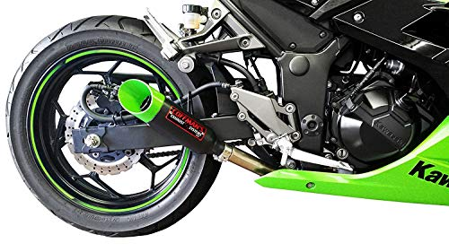 Fits ABS and Non ABS Black No Cut Frame Sliders 2013-2017 Kawasaki Ninja 300R MADE IN THE USA Shogun Motorsports 750-4129