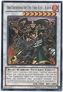 Yu-Gi-Oh! - Brotherhood of the Fire Fist - Kirin (JOTL-EN042) - Judgment of the Light - 1st Edition - Rare