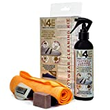 N4E Shoe Trainers Footwear Cleaner, Restorer & Reviver Care Cleaning Kit - Spray