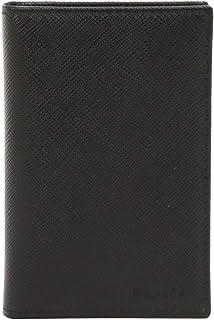 [プラダ] PRADA メンズ カードケース IDケース付き 型押しレザー 2MC035 053 SAFFIANO NERO ブラック