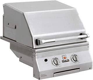 Solaire Deluxe InfraVection Built-in Grill (SOL-IRBQ-21GVIXL-LP), 21-Inches, Propane