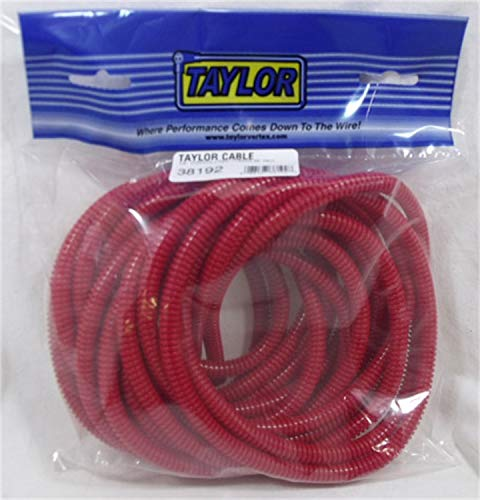 Taylor Cable 38192 Red Convoluted Tubing