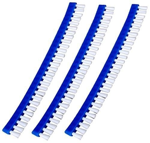 ATIE PoolSupplyTown Brush Replacement Set for Swimming Pool Leaf Vacuum/Leaf Eater/Leaf Catcher/Leaf Gulper/Leaf Bagger/Leaf Master - 3 Pieces