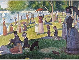 Georges Seurat A Sunday On La Grande Jatte 1884 Impression sur toile de qualité supérieure Décoration murale