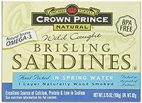 Crown Prince Natural トゲウオ 水煮 3 75 oz 106 g
