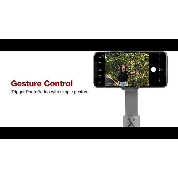 ZHIYUN Smooth-X Ufficiale Smartphone Pieghevole Stabilizzatore del Giunto Cardanico Stick per Selfie Vlog Youtuber (Grigio) 7 spesavip