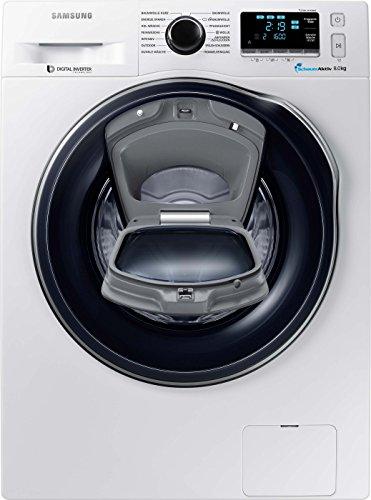 Samsung WW8GK6400QW/EG Waschmaschine / A+++ / 8 kg / 1400 UpM / SchaumAktiv / Trommelreinigung / Kindersicherung,