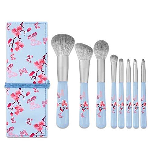 Beauty Penseel 8 Nano Zijde Make-up Penseel Set Beginner Make-up Gereedschap Set Oogschaduw Borstel Wenkbrauw Losse Poeder Poeder Penseel