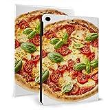 Superdünne Smart-Leder-Schutzhülle für Ipad, leckere hausgemachte Margherita italienische Pizza auf für Ipad Mini 4/5 7,9 Zoll mit automatischer Schlaf- / Wachfunktion