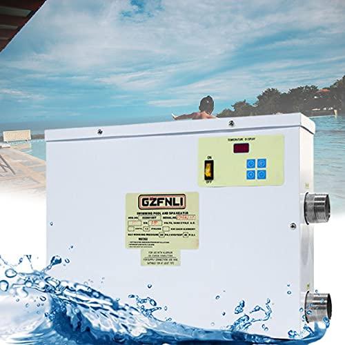 BoomSKLK Mini Wärmepumpe Pool, Digitaler Warmwasserbereiter...
