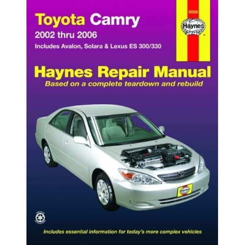 2002 toyota repair manual