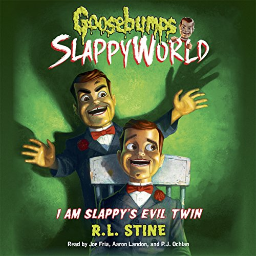 I Am Slappy's Evil Twin audiobook cover art