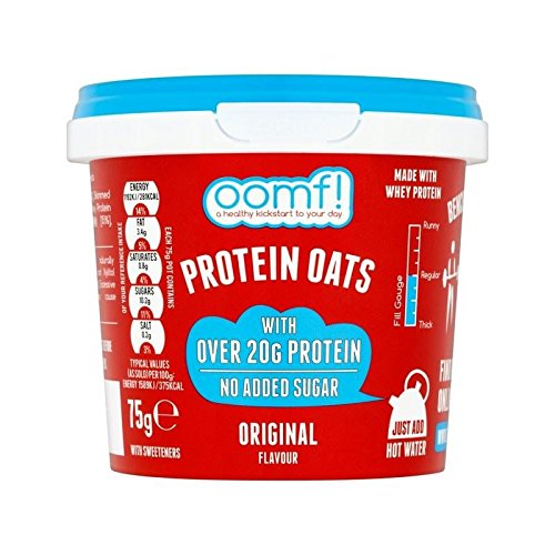 OOMF! Bench Pressed Oats, Original 75g - Pack of 4