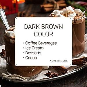 Monin - Gourmet Dark Chocolate Sauce, Velvety and Rich, Great for Desserts, Coffee, and Snacks, Gluten-Free, Vegan, Non-GMO (12 Ounce) #5