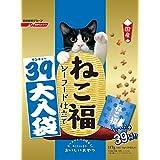 ねこ福 猫用おやつ シーフード仕立て 39大入袋 国産 フィッシュ 117g (3g ×39袋入)
