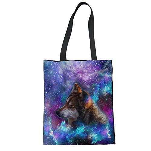 Tragetaschen für die Schule Teenager Lunch Bag Schwarz 15 Zoll Wiederverwendbare Shopper Tasche Wildleder