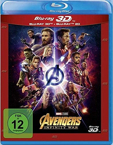 Marvel's The Avengers - Infinity War (+ Blu-ray 2D)