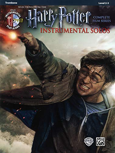 Harry Potter Instrumental Solos from the complete Film Series : Trombone (Book & CD): Trombone, Book & Online Audio/Software (Alfred\'s Instrumental Play-Along, Level 2-3)